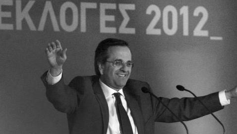 20-6-2012, Grecia, Samaras premier