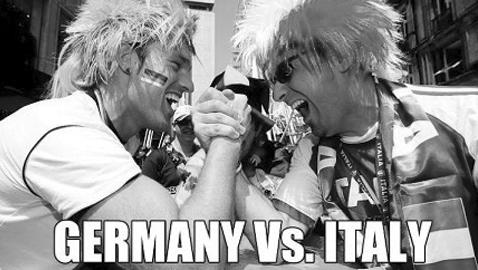 Italia-Germania, la sfida infinita