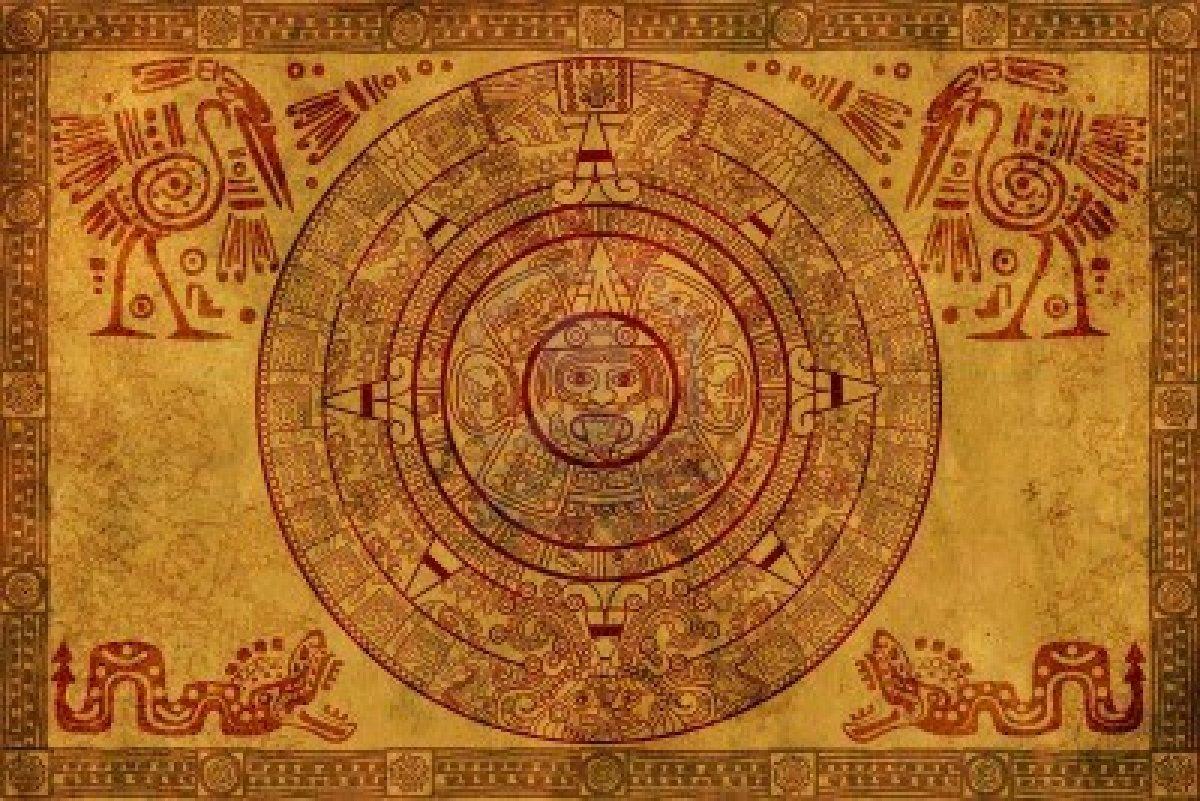 calendario-maya-su-pergamena-antica