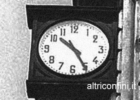 orologio stazione bologna