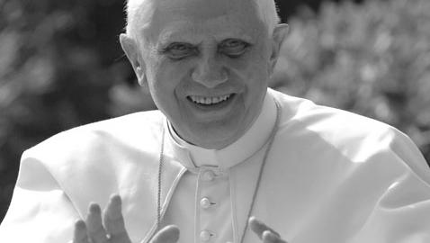 Benedetto XVI e quella vignetta che dice tutto