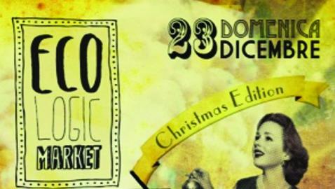 Eco.logic market, al via il Natale del riciclo al Brancaleone