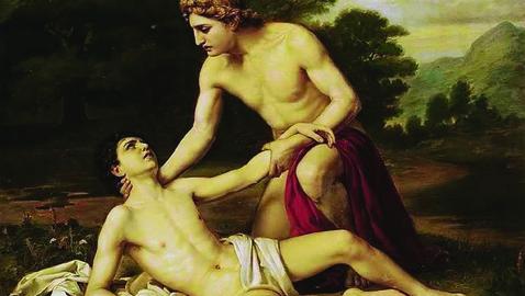 Giacinto, Apollo e Zèfiro: il triangolo mortale
