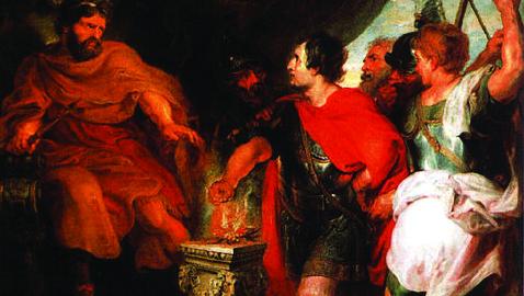Muzio Scevola e la faida tra Romani ed Etruschi