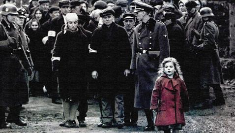 Bambina vestito rosso schindler