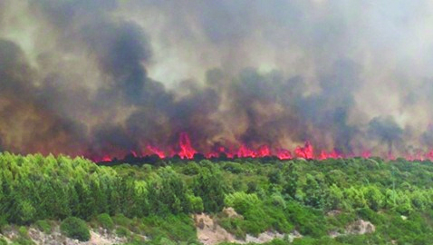 Sardegna brucia, roghi e vittime